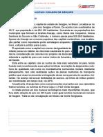 Resumo 1997415 Conhecimentos Gerais Do Estado de Sergipe Aula 12 Principais Cidades de Sergipe