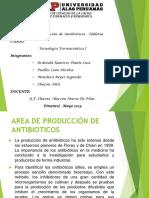 Area de Produccion de Antibioticos