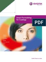 Smart Formulating for Coatings En
