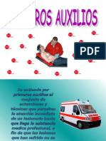 CHARLA DE PRIMEROS AUXILIOS.ppt
