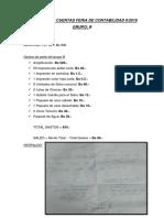 Rendicion de Cuentas Feria Contabilidad 2-2018