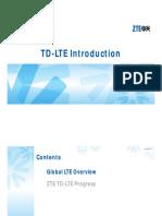 TD LTE Industrialization