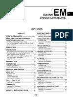 Em - Engine Mechanical Mr20dd