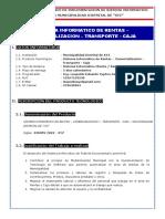 Sistema de Rentas – Comercializacion – Transporte - Caja (WEB) - Ing E. Yupton