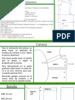 Patronaje Basico Masculino Camisa Pantalon Saco PDF