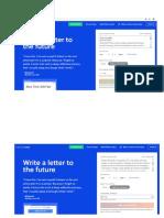Pantallazo Reto 5 -Carta Al Futuro