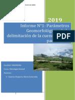 Informe Final de Hidrologia