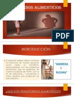 Presentación 2 La Anorexia