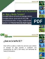 CFE Baja y Media Tensión
