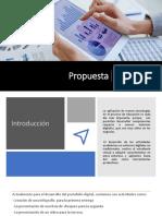 Propuesta. Guía Del Proyecto Teoria de Las Organizaciones Pptx