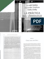 La Practica Del Liderazgo Adaptativo PDF