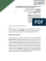 LAB Convenio Reconversion Laboral Cas 19551-2016 Arequipa