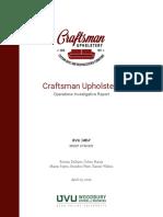 craftsman final report