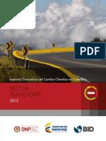 Impactos Económicos Del Cambio Climático en Colombia Sector Transporte