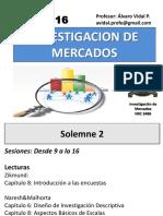 Sesion XVI - Investigacion de Mercados (Etapa Cuantitativa Descriptiva) Medicion de Actitudes