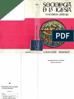 Bonhoeffer, Dietrich, Sociologia de La Iglesia