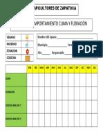 Registro Clima y Floracion
