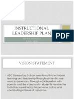 instructional leadership plan ppt