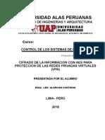 Protocolo de Articulo de Cifrado de Informacion en VPN