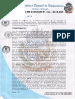 Acuerdo de Consejo 036-2018