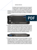 SONICWALL PRODUCTOS