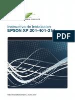 Manual Epson XP201 - XP401