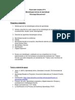Pauta Taller Tematico n4 Metodologias Activas