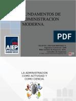 ADMINISTRACION MODERNA 2016-1 SP.ppt