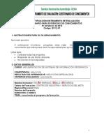 CuestionarioPrograma de Formaciòn SIG