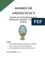 Avance Del Proyecto #2