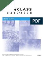 Canon Imageclass d340 Basic Guide 588598