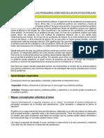 Tema 3_ Definición de Los Problemas Como Raíz de Las Políticas Públicas