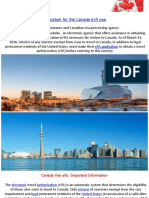 Canada Eta | Application for the Canada eTA visa