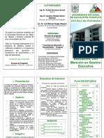 Maestria en Gestion Educativa