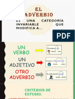 Adverbio y Pronombre