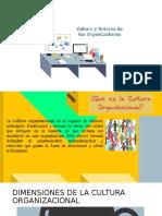Cultura y Entorno de La Organizacion