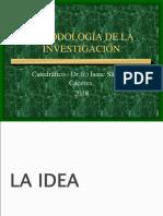 2018 i Unidad Metodología de La Investigación