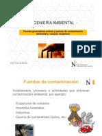 Fuentes Generadores de Contaminacion y Cuerpos Receptores