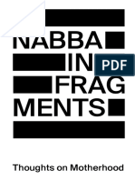Nabba in Fragments Thoughts on Motherhood