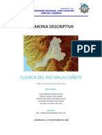 Memoria Descriptiva Cuenca