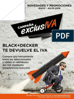 Black&Decker Verano Iva 2019
