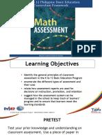 5 Math Assessment