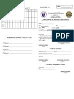 Report Card SF4