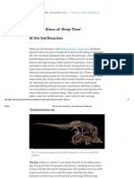 Meet the Dinos of 'Deep Time' _ at the Smithsonian _ Smithsonian