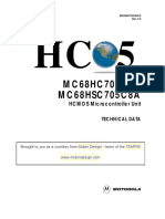 MICROCONTROLADOR MC68HC705