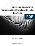 A Systematic Approach to Translating Contracts Into English