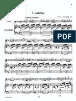 Grieg Lyrische Suite Op12 Flute Piano Pno