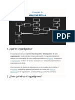 Organigrama en La Organizacion