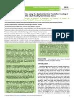 Fermentation Characteristics Along the Gastrointestinal Tract After Feeding of Jerusalem Artichoke Meal to Adult Healthy Warmblood