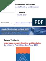 Underwater Acoustic Modeling & Sim